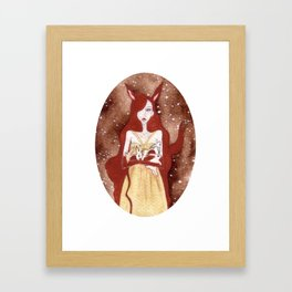 Viki Framed Art Print