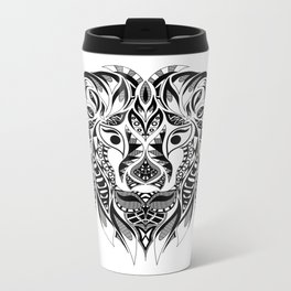 Señor León Metal Travel Mug
