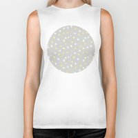 dots Biker Tanks featuring Dots by Marta Olga Klara