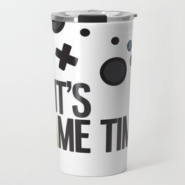 It's Game Time Travel Mug