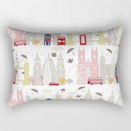 London landmarks Rectangular Pillow