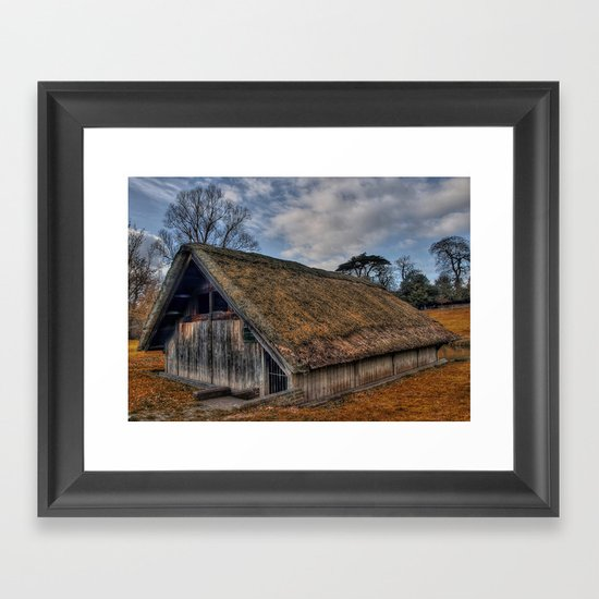 The Old Boat House Framed Art Print
