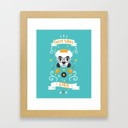 Animal Crossing: DJ KK Framed Art Print