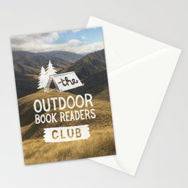 The Outdoor Book Readers Club Stationery Cards