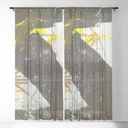 mʊərɪʃ, ˈmɔː- Sheer Curtain
