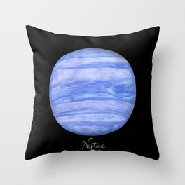 Neptune #2 Throw Pillow