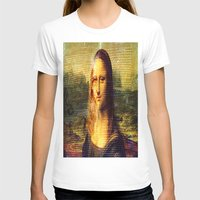 da vinci T-shirts featuring The Da Vinci Code by  Agostino Lo Coco