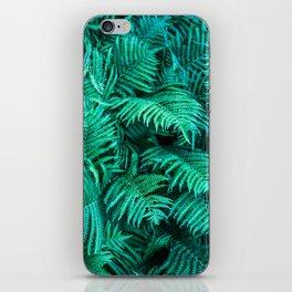 Fern Photography | Emerald | Turquoise |Tropical Leaves | Art Print iPhone Skin