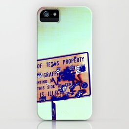 State Law iPhone Case