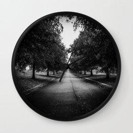 The Lone Walk Wall Clock