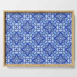 For the Love of Blue - Pattern 372 Serving Tray