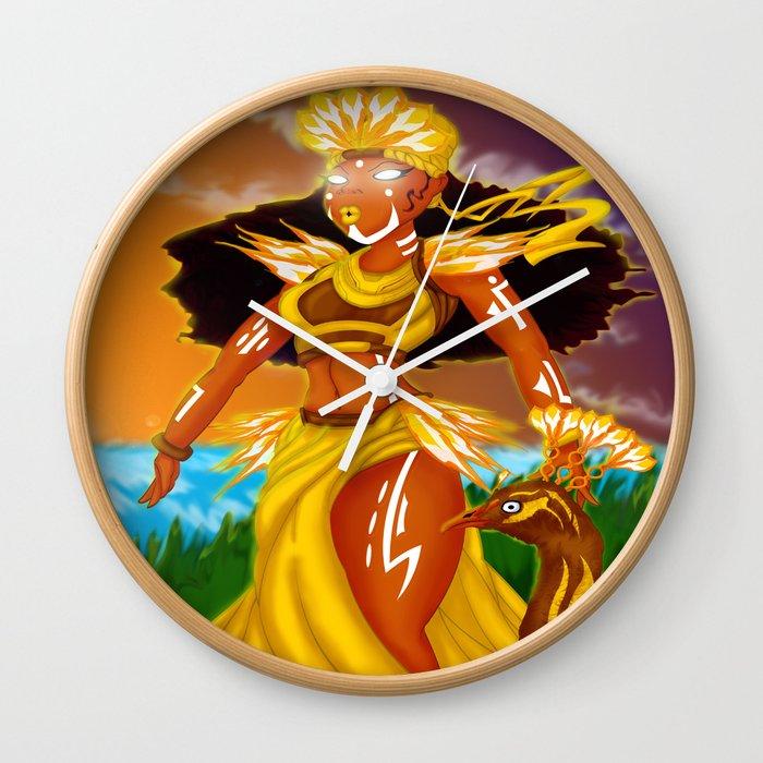 Oshun Wall Clock
