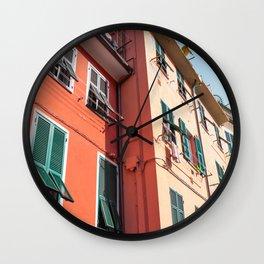 Golden Hour in Italy Wall Clock