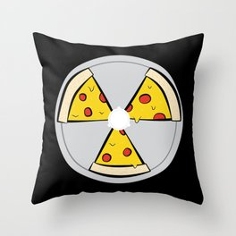 PIZZAHAZARD Throw Pillow