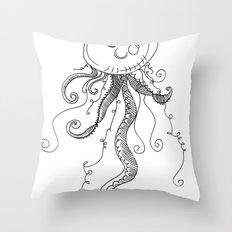 J..j..jelly fishhhh Throw Pillow