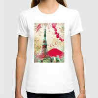 tokyo T-shirts featuring Tokyo by Kimball Gray