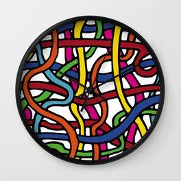 Pattern_1 Wall Clock