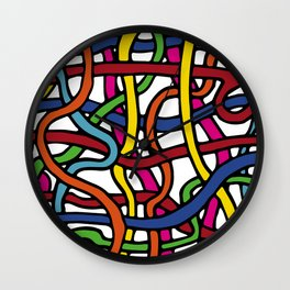 Pattern_1 Wall Clock