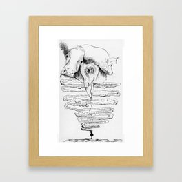 The hunger Framed Art Print