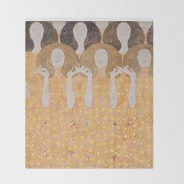Gustav Klimt - Choir of Angels (Chor Der Paradiesengel) Decke