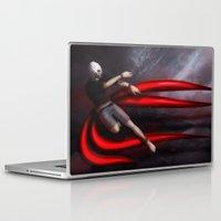 tokyo ghoul Laptop & iPad Skins featuring Tokyo Ghoul: Kaneki by Arnix