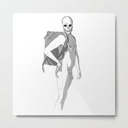 Flirting with death Metal Print