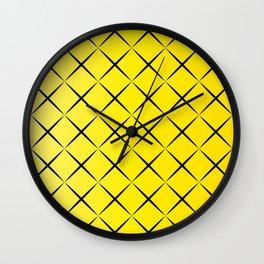 Cruzados Wall Clock
