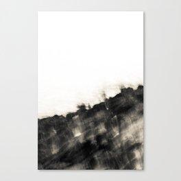 Ragged Line of Sea and Coast Canvas Print