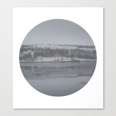 Telescope 6 cabin across the water Canvas Print