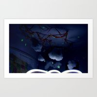 Stars Scar My Ceiling Art Print