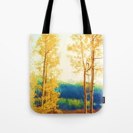 Faded Aspens Tote Bag