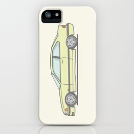BMW E36 M3 Vector Illustration iPhone Case