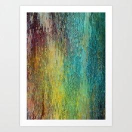 Pine bark Art Print
