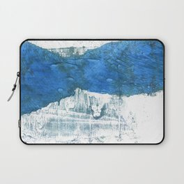 Lapis lazuli abstract watercolor Laptop Sleeve