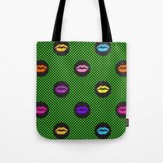Fun kiss Tote Bag