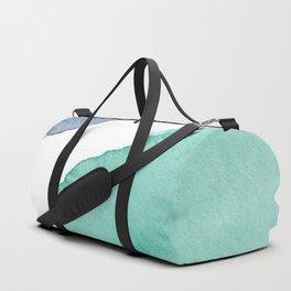 Watercolor Drops Duffle Bag
