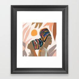 Women with the Turbans Framed Art Print