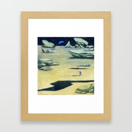 Murile and the Moon Chief Framed Art Print