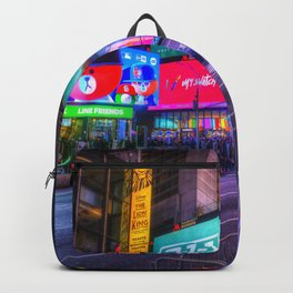 Times Square New York Backpack