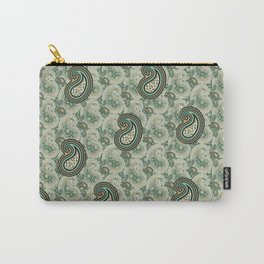 Excited Green Carry-All Pouch