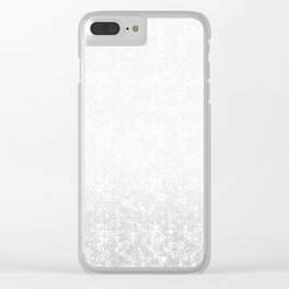 Gradient ornament Clear iPhone Case