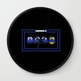 games pacman Wall Clock