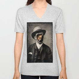 Gentleman Fox Unisex V-Neck