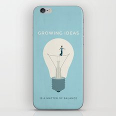 Growing ideas iPhone & iPod Skin