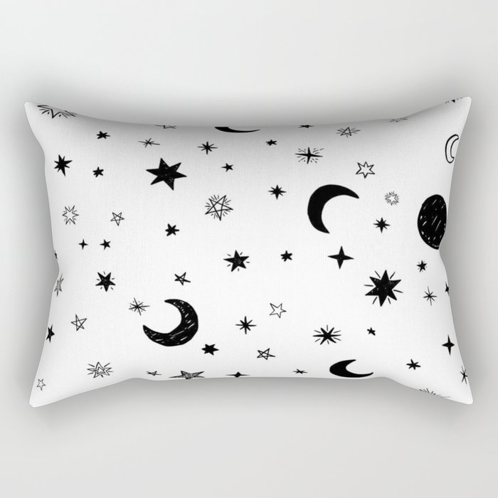 Moons & stars Rectangular Pillow