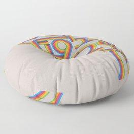Steve Jobs. In Memoriam Floor Pillow