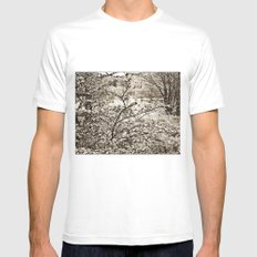 In nature. Mens Fitted Tee White MEDIUM