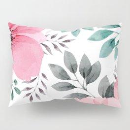FLOWERS WATERCOLOR 14 Pillow Sham
