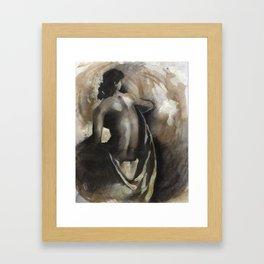 Female Nude #1 Framed Art Print