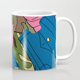 Army Girl Clothing Coffee Mug